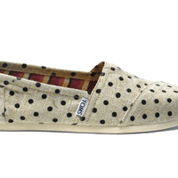 Natural Hemp Polka Dots Women's Classics US