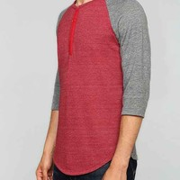 ALTERNATIVE Shirttail Henley