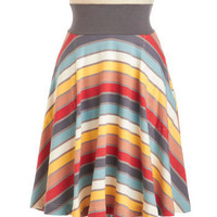 Mellow Out and About Skirt | Mod Retro Vintage Skirts | ModCloth.com