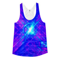 Cyber Love || Women's racerback tank — Future Life Fashion