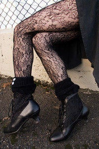 Socks by Sock Dreams » Whats New » Baroque Lace Pantyhose