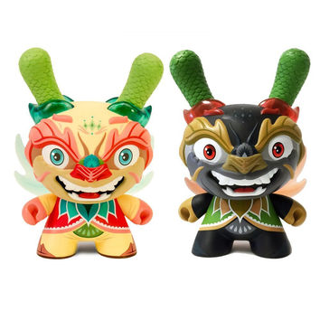 "Imperial Lotus Dragon 8"" Dunny"