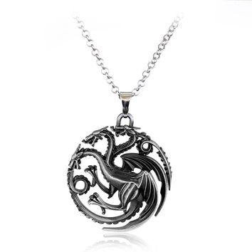 New Game of Thrones Styles Necklace. Family Crest -House Stark, House  Lannister ect.  Men's/ Women jewelry