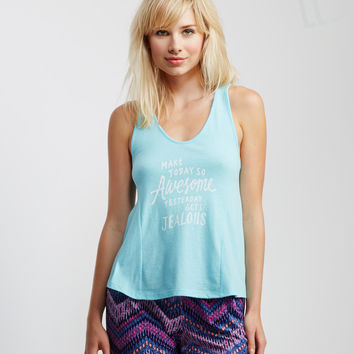 LLD Today Knit Swing Tank