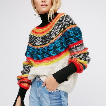Free People Goyave Knit Sweater