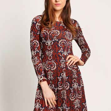 Jasmine Floral Printed Dress | Ruche