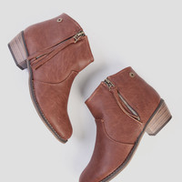 Dorado Booties In Tan