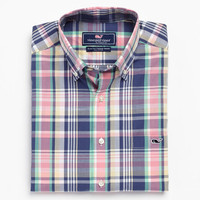 Shady Beach Plaid Tucker Shirt