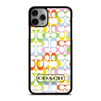 COACH NEW YORK COLORFUL iPhone Case Cover