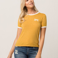 RVCA Curve Womens Ringer Tee