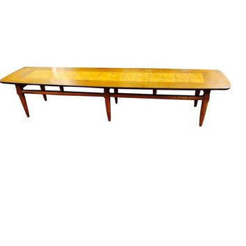 "Pre-owned Mid-Century Lane ""Surfboard"" Coffee Table"