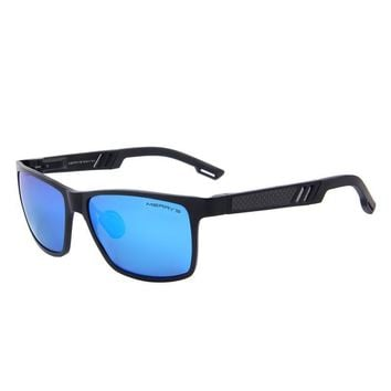 Men Polarized Rectangle Sunglass