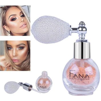 Waterproof Shimmer Loose Powder Makeup Spray