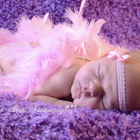 Lea Headband - all ages - children newborn photography props - bow headband - vintage chic boutique headbands