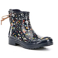 Women's Walker Turf Rain Boot in Floral Navy by Sperry - FINAL SALE