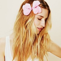 Free People Flower Bow