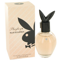 Playboy Play It Lovely Perfume by Coty 2.5 oz Eau De Toilette Spray