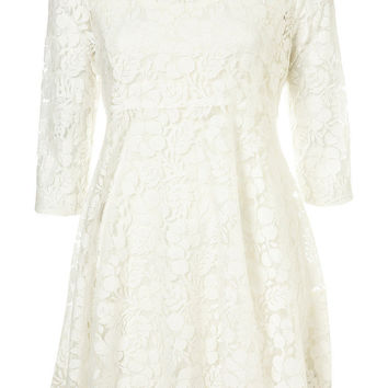 Lace Peter Pan Dress