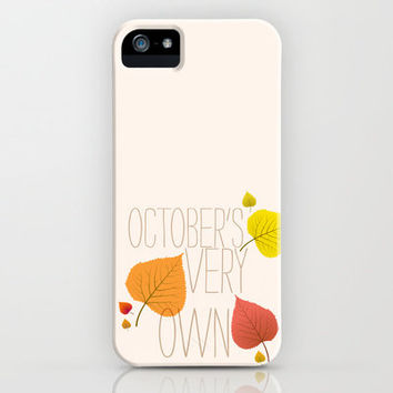 OCTOBER'S VERY OWN iPhone & iPod Case by Sara Eshak