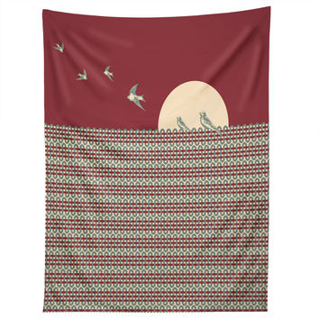 Belle13 Ethnic Sunrise Tapestry