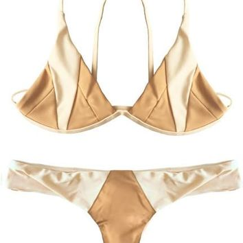 Isla Top x Byron Bottom Bikini Separates (Bare/Naked)