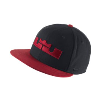 LeBron True Amp BB Adjustable Hat Size ONE SIZE (Black)