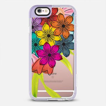 Spring flowers watercolor iPhone 6s case by Famenxt | Casetify