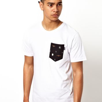 The Quiet Life T-shirt Ikat Pocket