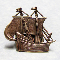 Pirate Ship Nautical Ring by ranaway on Etsy