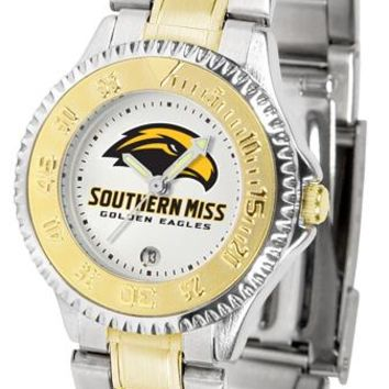 Southern Mississippi Eagles Competitor Ladies Two-Tone Watch