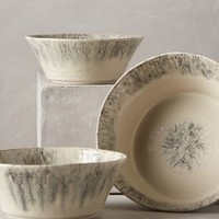Marbled Ink Nesting Bowls by Anthropologie in Black Size: Nesting Bowls Bowls