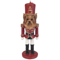 Yorkie Nutcracker Christmas Ornament