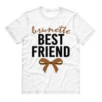 Brunette Best Friend Bow Shirt