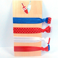 Patriot Collection - No bump hair ties
