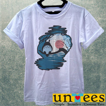 Low Price Women's Adult T-Shirt - My Neighbor Totoro design