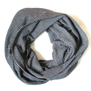grey unisex scarf,infinity scarf, scarf, scarves, long scarf, loop scarf, gift