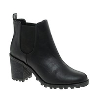 Monki Leonor Heeled Chelsea Ankle Boots