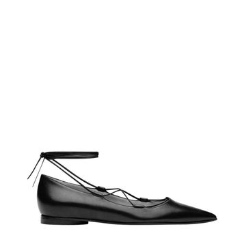 Michael Kors Kallie Runway Flat - Lace Up Ballet Flats - ShopBAZAAR