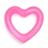 Beach, Please! Neon Pink Heart Innertube