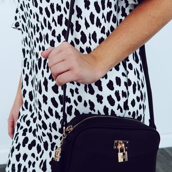 Highs & Lows Purse: Black