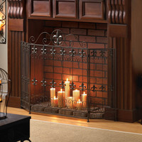 French Revival Fire Place Screen