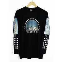 Agora Classics 91 Long Sleeve T Shirt Tee hood been trill by air off-white NEW