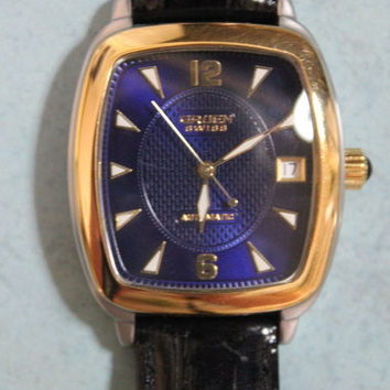 Men's Vintage Gruen Swiss Made Automatic Watch - 25 Jewels - GSM014