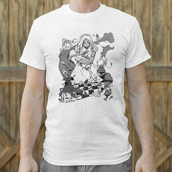 Mens Alice In Wonderland T-Shirt