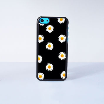 Cute daisy Plastic Phone Case For iPhone 5C More Case Style Can Be Selected