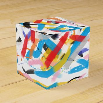 Positive Vibes Colorful Painting Gift Favor Box