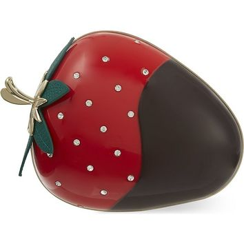 KATE SPADE - Dipped strawberry clutch | Selfridges.com