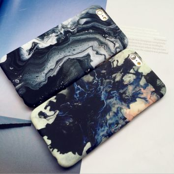 Marble Grain Case for iPhone
