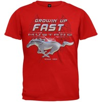 Ford - Growing Up Fast Mustang Youth T-Shirt