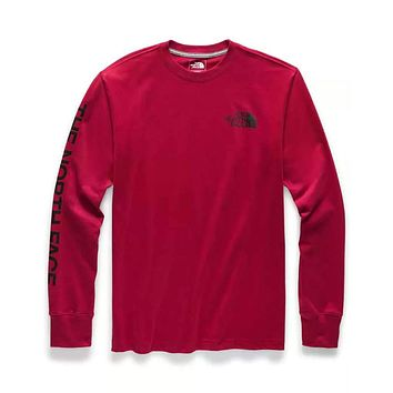 Men's Long Sleeve Brand Proud Tee by The North Face